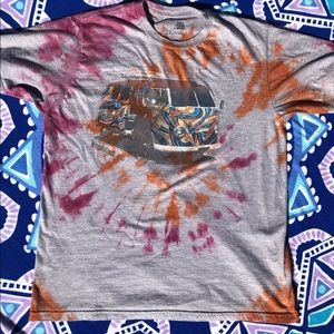 Tie Dyed VW Bus Woodstock Shirt